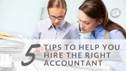 Hire the right Accountant